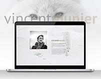 Vincent Munier - Webdesign