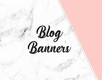 Blog Banners (Social Media)