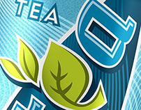 Nestea Logos and Can Designs
