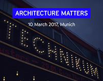 Architecture Matters 2017