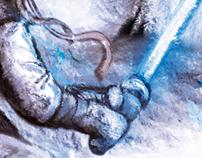 STAR WARS (Luke Skywalker and Wampa)