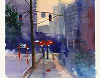 Atlanta Watercolor