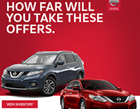 Nissan OEM Email Designs