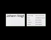 Johann Voigt – CI & Website