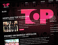 Website Top Eventos - Curitiba - PR
