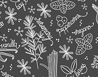 Surface Design: Kitchen Garden Collection