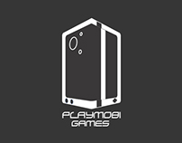 PlayMobi Games Brand design
