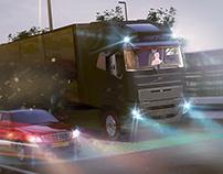 Road Truck Render