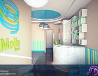 Gym interiorarchitectural visualization