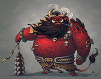 Oni - Character design