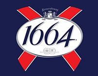 Kronenbourg 1664 Promotional Design Propose