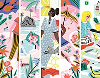 Editorial Illustrations / Flow Magazine