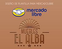 Muebles El Alba | Plantilla MercadoLibre