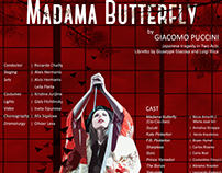 Madama Butterfly Opera Poster. Personal Project.