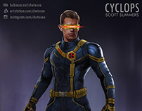 X-Men Cyclops Conceptual Design (Fan made)