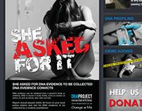 DNA PROJECT - Build Awareness print ad PSA