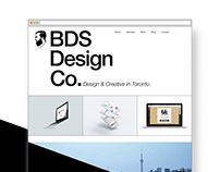 BDS Design Co. Homepage Design