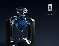 Rolls Royce HABEN Bespoke Perfume Bottle