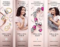 Pandora Valentines Online Campaign