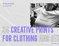 24 Creative prints for clothing