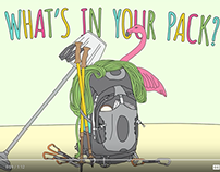 "OSPREY PACKS ""WHAT'S IN YOUR PACK"" SERIES"