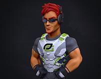 Optic Gaming Scump Figurine