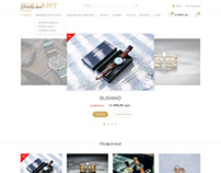 Dialant Jewelry store home page