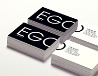 Business card design - EGO