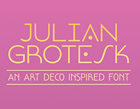 Julian Grotesk | Free Typeface
