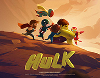 "[Animated] ""HULK"" Fanmade Short Film for Serious Hero"