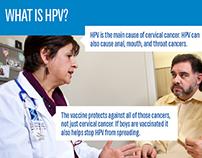 HPV Vaccine Fotonovela Brochure