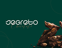 "Chocolate and candy ""Segreto"" website design"