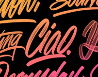 Hand lettering, Vol. 10
