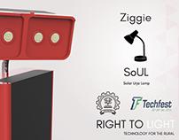 Ziggie - Solar Urja Lamp
