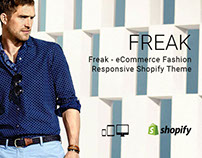 Freak – eCommerce Fashion Responsive Shopify Theme