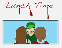 Lunch Time comic 2014-2015