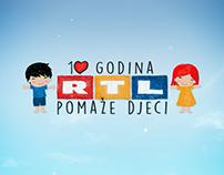 RTL pomaže djeci redesign