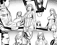 Digital Comics Inking Red Agent - The Human Order #2