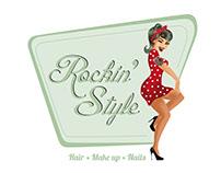 Illustratie en logo Rockin' Style