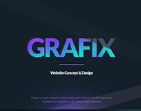 UI/UX Grafix | Website Design