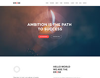 Erose Free Onepage WordPress Theme