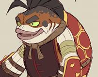 Koi Koi Character Concept