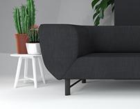 Sofa Armrest
