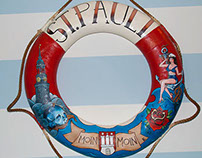 "Rettungsring / St. Pauli - ""Moin Moin"""