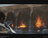 Fire FX of 'The Order: 1886' - Closer Look