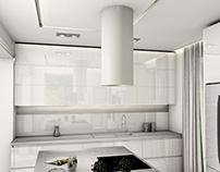 Kitchen design - House in Gdańsk Oliwa