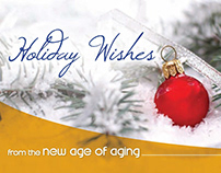 New Age of Aging Christmas Card