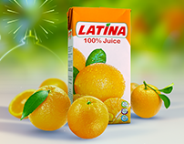 LATINA 100% Juice - TVC