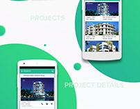 Real Estate App - Material Design UI