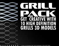 Grill Pack for your 3D Creation project